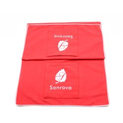 Logo personnalisé microfibre absorbant les serviettes de séchage Pet produit imprimé