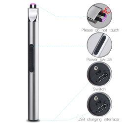 Nieuwe Gelanceerde BBQ Lichtere USB van het Metaal van de Prijs van de Fabriek Elektrische Flexibele