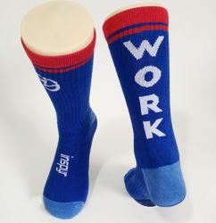 Tennis Coussin de performance athlétique personnalisée des chaussettes, des chaussettes de l'équipage