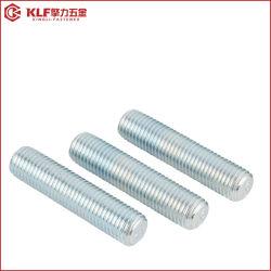 La norme ASME B 18.2.1 tige à filetage complet ASTM A193 B7 goujon de fixation de bride de boulon