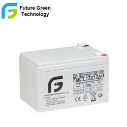 再充電可能なVRLA SLAは鉛の酸の記憶UPS電池12V 12ahを密封した