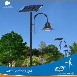 Lampada Solare Park Garden A Led Yard Con Controllo Automatico Delight 15w