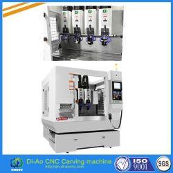 4 spindels CNC snijmachine voor telefoon glazen scherm, glasbeschermer, paneelbeschermer
