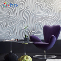 Muffa concreta decorativa tridimensionale del mattone del silicone della parete 3D della priorità bassa del blocco