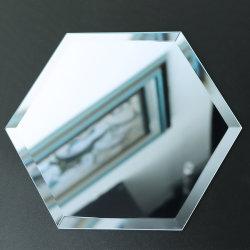4mm abgeschrägter Spiegel-unregelmäßiger Muster-Silber-Spiegel-Aluminium-Spiegel