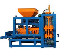 Qt4 15 ciment hydraulique bâtiment Finisseur de pavage creux largement utilisé hydraulique automatique machine à fabriquer des blocs de béton en machinerie de construction en brique
