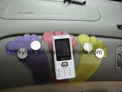Ножной форму липкие накладки горячие рекламные Magic PU гель Car липкие накладки против коврик для скольжения