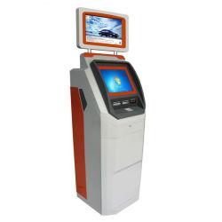 Dual Display Self Service сенсорный экран аэропорта обмен валюты киоск с паспортом устройство чтения карт памяти