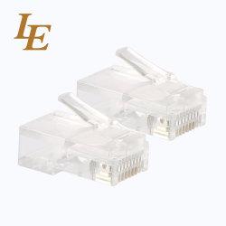 CAT6 Ethernet RJ45 Разъем для установки на панели управления