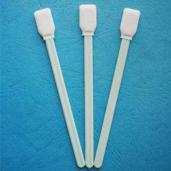Tamponi di cotone del locale senza polvere per l'obiettivo di ottica di pulizia con RoHS