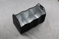 Luz Portable tejer Crochet Tote hombro Organizador de la bolsa de almacenamiento de hilo