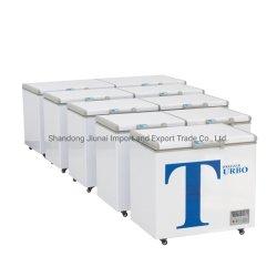 Коммерческие морозильной камеры по горизонтали холодильник холодильное и замораживание энергосберегающая вмещающему прилавок-витрина для мороженого
