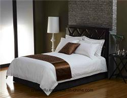 Hôtel Ensemble de literie simple 1 cm bande Satin Draps de lit