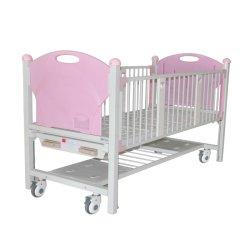 2개의 크랜크 파울러 수동 병원 어린이 침대 (A)