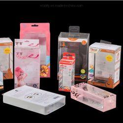 La caja de regalo personalizada PVC PET transparente plegable de plástico transparente de polipropileno cajas de embalaje y bolsa con la impresión de papelería cosméticos/Juguetes ropa alimentación portada del libro