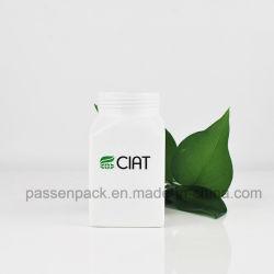 Medische Pakket van het Pakket van de Container van de Fles van de Fles van het aluminium het Vierkante Witte Kosmetische