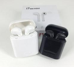 J7S-Mini Casque Casque Bluetooth Casque sans fil le plus récent J9S V4.2 Blue tooth avec boîte de chargement