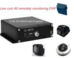 HD de 1080P SD Mobile DVR H. 265 4G de gestão da frota