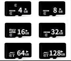 100% реальных возможностей карты памяти 8 ГБ 16ГБ 32ГБ 64ГБ 128 ГБ карта класса 10 высокоскоростных TF карты