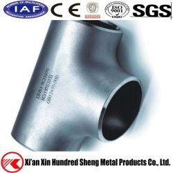 ASTM/AISI rang Gelast Roestvrij staal Vier Verbinding Met drie richtingen van het T-stuk van de Montage van de Pijp van de Manier de Dwars
