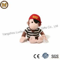 لعبة القرد لطيف الأطفال ارتداء قبعة والقميص