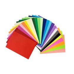 Напряжение питания на заводе оптовой смешанных цветов нестандартного размера бумага для цветного копирования