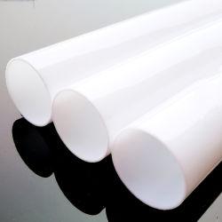 卸売10mmから100mmの直径白いPMMAのアクリルの管