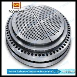 Acero al carbono forjado personalizadas Tubesheet, el deflector, la hoja de tubo de intercambiador de calor