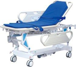 Barella connettente medica di trasferimento dell'ABS pieghevole per l'ospedale