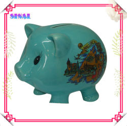 Individuelle Souvenir Sparschwein, Keramik Sparschwein Bank