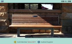현대적인 가구 금속 레저 정원 벤치 판매