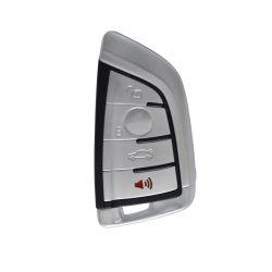 زر Qn-RF480X 4 أزرار مفتاح السيارة قطع برنامج مفاتيح شاشة BMW المعروضة لـ BMW CAS4، CAS4+، نظام الذاكرة المتلاطم