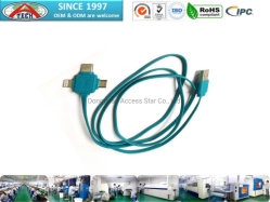 習慣20AWG/22AWG/24AWG Pogo Pin USB Cable、USB Magnetic Cable、Flat Cable