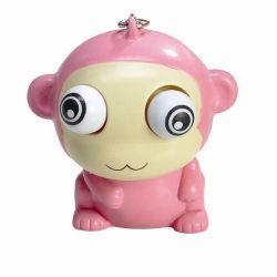 Venda a quente PVC plástico Monkey Toy, Pato Amarelo Action Figure brinquedos de PVC, Chaveiro Brinquedo Animal