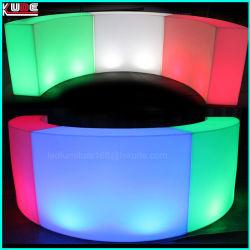 Visualizzazione luminosa del vino della barra rotonda LED della barra del serpente del LED