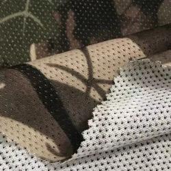 Usine chinoise Anti-Mosquito Camouflage fonctionnelle l'impression numérique plein Polyester tricoté en tissu à mailles pour Outdoor Wear Sports tissu T-Shirt