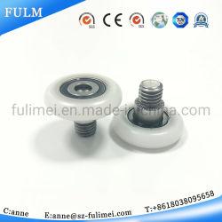 La meilleure qualité de la poulie coulissante en plastique des roues à rouleaux du roulement à billes