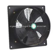 Jyz-ventilator met vierkante frame en axiale stroming