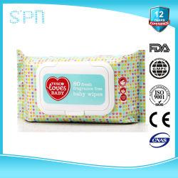 Soft Pack gant de toilette avec couvercle tissu Press-Open Bébé