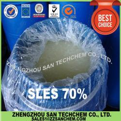 SLESナトリウムの液体石鹸のためのLaurylエーテルの硫酸塩70%