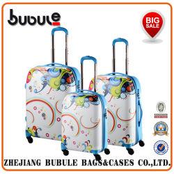 Extensible à 3 pièces imprimé 4-roues de Spinner Set de bagages
