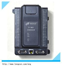 Digitale Input-output PLC t-921 (19DI/16DO) met Vrije Software, Kabel en de Server van Portlandcement