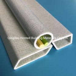 Usine de plastique renforcé de fibre de verre creux Pultruded PRF tube rectangulaire en fibre de verre pour la pétrochimie