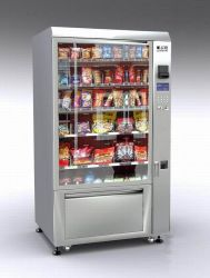 냉각 (LV-205CN-610)를 가진 자동 판매기