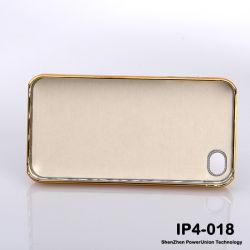 Популярные алюминиевый сплав+ПК чехол для iPhone4G (IP-4-018)