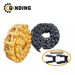 As peças do material rodante da Hitachi Ex120 Via Link de cadeias de escavadeira de montagem