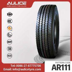 Pièces de moto de la lumière de BUS du chariot pneumatique pneu de voiture de tourisme 7.50R16 14PR Aulice marque pneu TBR (AR111)