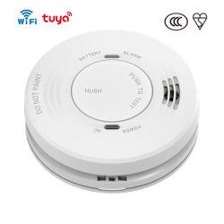 Wi Fi Photoelectric إنذار الدخان المتصل بالهاتف المحمول