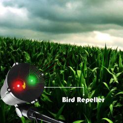 Eco friendly Potencia del láser de palomas plagas gorrión pájaro Deterrent impermeable al aire libre con láser Animal Repeller aves para el cultivo de exterior