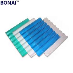 건축재료 섬유유리 물결 모양 플라스틱 FRP 루핑 장